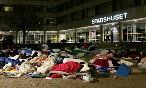 Roma sleep on streets after Malmö eviction