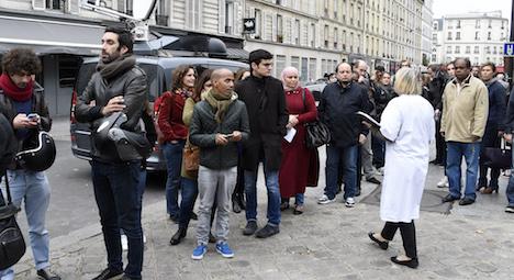 Paris hospitals looked like war zones: doctors