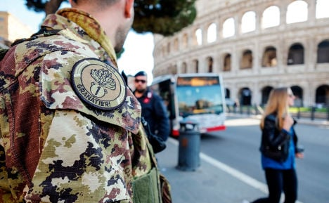 Fear deters tourists from Rome amid terror threat