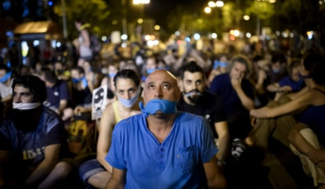 Media groups urge Spain's future government to repeal 'gag law'