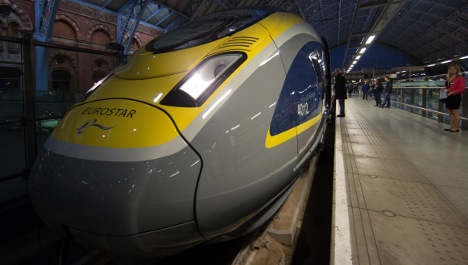 Eurostar eight hours late after hitting wild boar