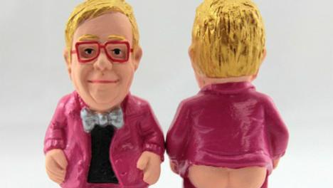 Elton John, Princess Leia and Bono honoured as Christmas crappers