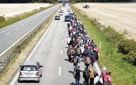 Denmark and Sweden in refugee war of words