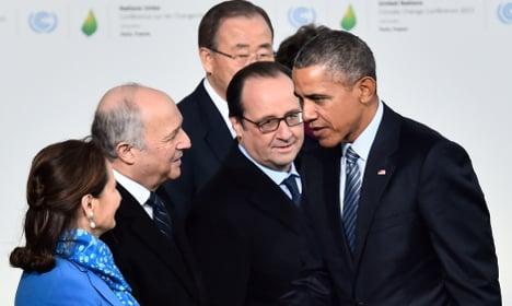 World leaders open Paris climate-rescue summit