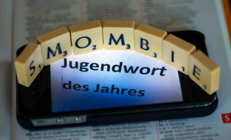 Teens pick 'Smombie' as hippest German word