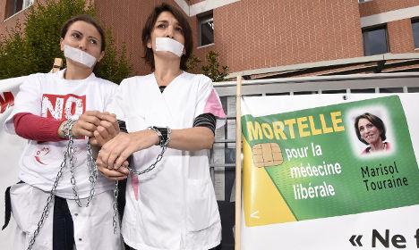 France braces for 'Black Friday' doctors strike