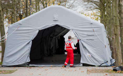 Germany unable to house 300,000 refugees