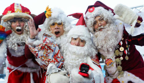 Hong Kong man wins 'world's best Santa'