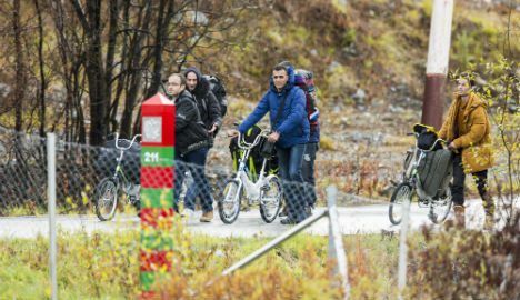 Norway sees another record week for refugees
