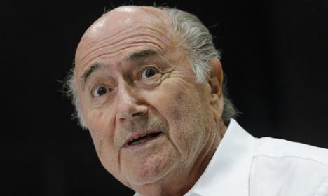 Suspended Fifa boss Sepp Blatter in hospital
