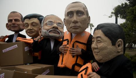 Climate sceptic Putin to attend Paris summit