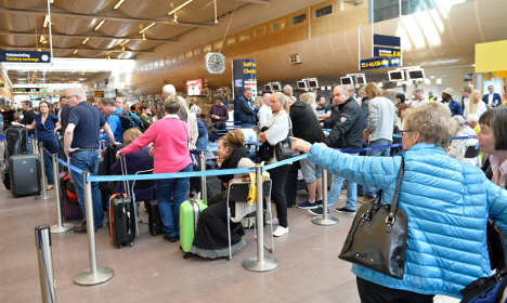 More Swedes go abroad to escape daily stress
