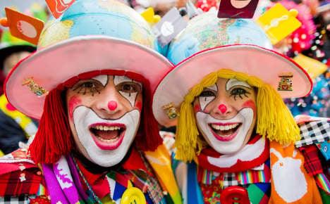 Karneval season kicks off to lift winter blues