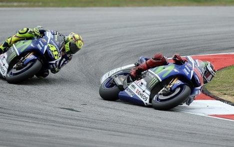 Yamaha refutes claims Rossi 'kicked' Marquez