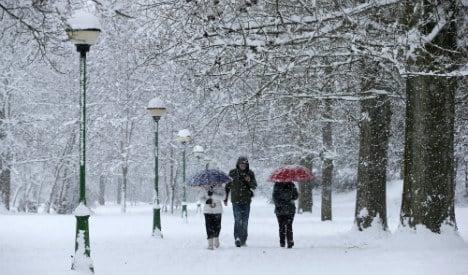 Brrrrr! Deep freeze arrives as polar air front sweeps across Spain