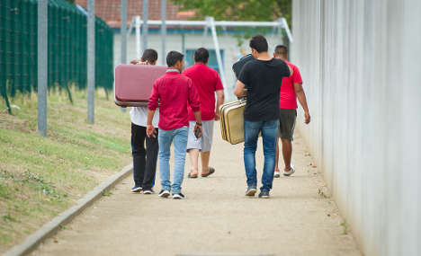 Refugees don't fear reprisals in Germany