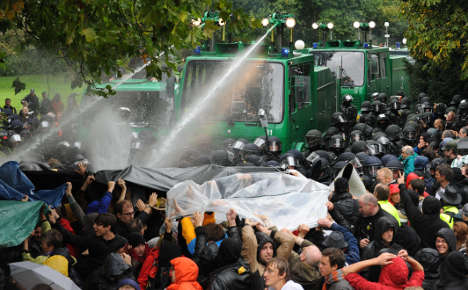 Stuttgart police found guilty of brutality