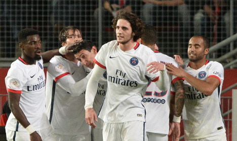 PSG stretch lead at top of Ligue 1 to 10 points