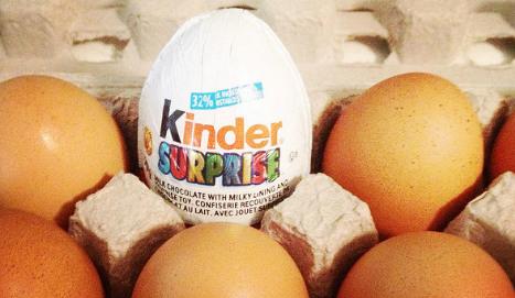 Grandma smuggles drugs for jailed son in kinder egg stashed inside her