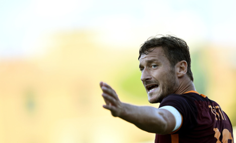 Totti paid to thwart son's kidnap: report
