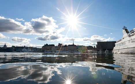 Stockholm: World's cleanest water?