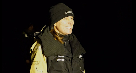 Dona Bertarelli sets sail on round-the-world trip