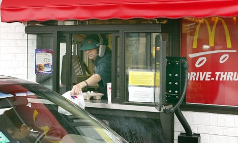 French McDonald's 'sold drugs at drive-through'