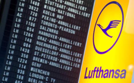 10,000s grounded as Lufthansa crews strike