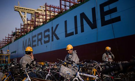 Maersk profits down due to freight and oil slumps