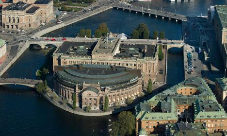 'Threat' directed against Swedish parliament