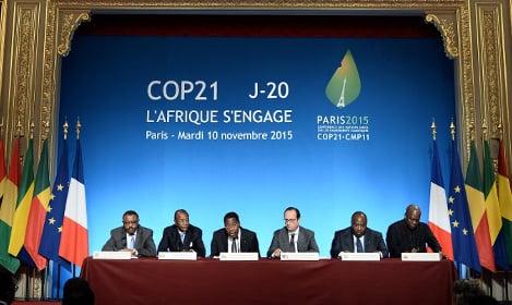 'Progress' in Paris climate change talks
