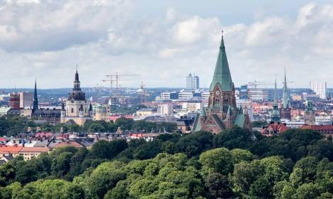 Police probe mystery blast in Swedish capital