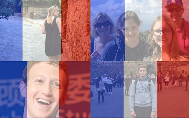 Why are people changing their profile photos on Facebook?