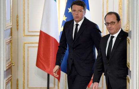 Libya 'a priority' in Isis fight: Renzi