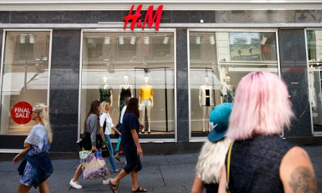 Sweden's H&M signs pledge for textile workers