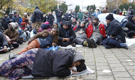 Roma protests continue after Malmö camp shuts