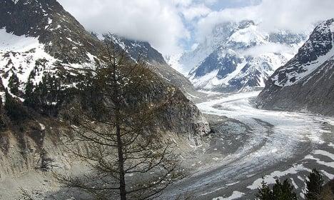 Mont Blanc's Mer de Glace loses three metres