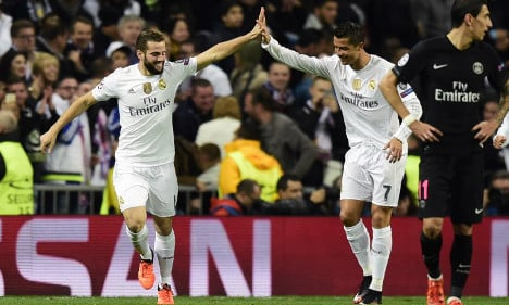 PSG unlucky in narrow defeat to Real Madrid
