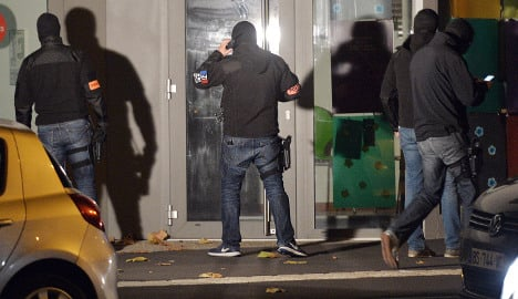 French police stage another 128 night raids