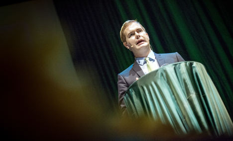 Vandals attack Swedish government buildings