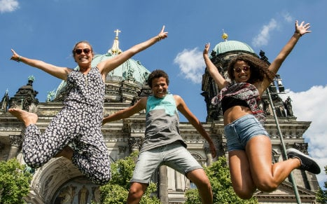 Berlin was Germany's sunniest state in 2015