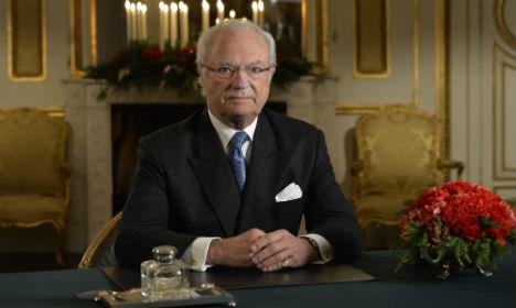 King talks terrorism in Christmas speech