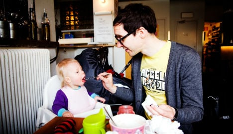 Swedish Dads pushed to take third month of leave