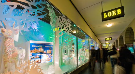Christmas sales hit by strong franc effect