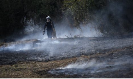 Arsonists blamed as 130 wildfires raze northern Spain natural parks