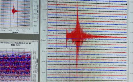 Quake makes sleepy German town tremble