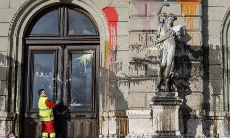 Protesters trash Geneva city centre: police
