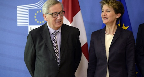 EU and Bern still seeking immigration agreement