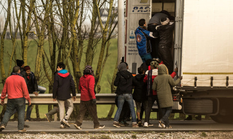 Refugee found dead in truck in northern France