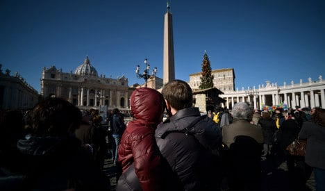Two detained for flying drone over Vatican